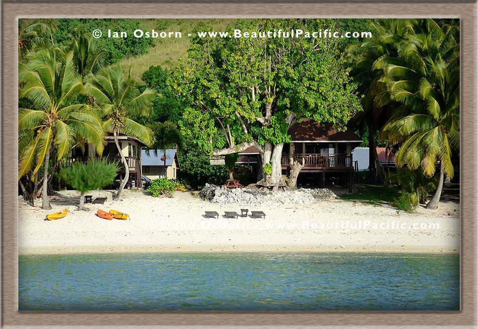 Our Location On Aitutaki Island Beach Villas